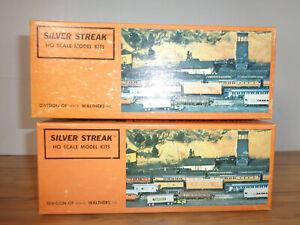 SILVER STREAK HO SCALE  2 KITS-# 232 PIEDMONT NORTHERN & # 223 D&RGW BOX CARS