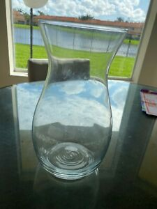 """10"""" Glass Vase - Pitcher, Pot, Flower Holder for Plants, Water Container"""