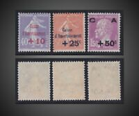 1928 FRANCE SINKING FUND- CAISE D'AMORTISSEMENT NH SCT. B28-B30 Y 249-251