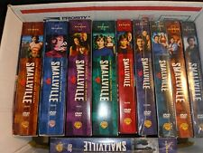 SMALLVILLE SERIES LOT 1-10 TOTAL 1-5 open 6-10 SEALED NEW L@@K NICE NEAR NEW!