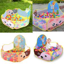 Kid Children Baby Pit Ocean Ball Pool Play Fun Toy Outdoor Indoor Game Tent Gift