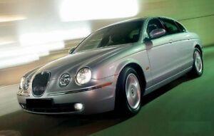 DELUXE Fog Light Trims ROYAL CHROME x2 for Jaguar S-Type Facelift 03-08 LCI