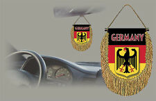 GERMANY REAR VIEW MIRROR WORLD FLAG CAR BANNER PENNANT