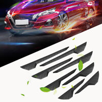8pcs/Set Car Edge Protector Guard Anti-Scratch Strip Bumper Sticker Accessories