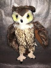 Universal Studios The Wizarding World of Harry Potter Horned Owl Plush Soft Toy
