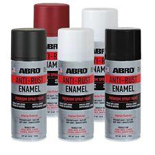 SALE ABRO ANTI-RUST ENAMEL 400ml Gloss Black  PREMIUM SPRAY PAINT High Quality