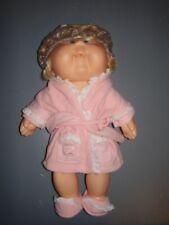Cabbage Patch Kids Bath time 1983 Collectors Item & Clothes 1980's Dress b7