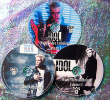 Billy Idol Generation X Music Video Collection 3 Dvd Set 1977 to 2015 40 Videos