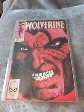 Marvel Wolverine- Issue 21. Comic near mint condition dust cover faded with age