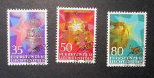 Liechtenstein Michel-Nr. 884-886 o gestempelt - Weihnachten 1985