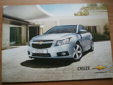 Chevrolet Cruze brochure 2011 UK market