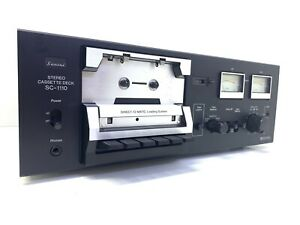 SANSUI SC-1110 Stereo Cassette Vintage 1977 Refurbished 100% Working Like New