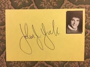 John J. York - General Hospital - 21 Jump Street - Dynasty - Autographed 1991