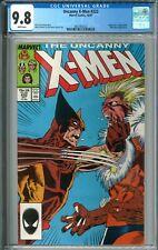 Uncanny X-Men #222 CGC 9.8 NM/MT WP 10/87 1987 Marvel ComicsWolverine Sabertooth