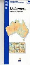 Delamere SD52-16 1:250,000  topographic map brand new latest edition