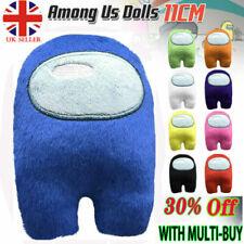 UK Among Us Game Plush Soft Stuffed Toy Kids Dolls Figure Plushies Xmas Gifts UK