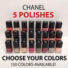 (LOT OF 5) CHANEL Le Vernis Longwear Nail Polish *CHOOSE COLORS* .4oz - With Cap