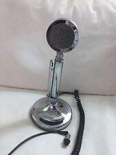 Vintage Astatic Silver Eagle Ham/CB Radio Desk Microphone UNTESTED