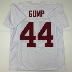 New FORREST GUMP Alabama White College Custom Stitched Football Jersey Men's XL