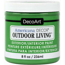 Americana Decor Adol12-36 Outdoor Living Water-Based Craft Paint, Lily Pad, 8