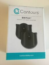 New w Defect Contours Britax Infant Car Seat Adapter 2 Count