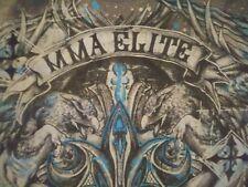 Men M, long sleeve, T-shirt, UFC, fleur-de-lis, griffin, fighting, karate, , a1