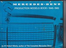 MERCEDES BENZ Production Models Book 1946-1983 - fascinating