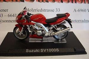 SUZUKI  SV 1000 S (2003) rot 1:24 Altaya