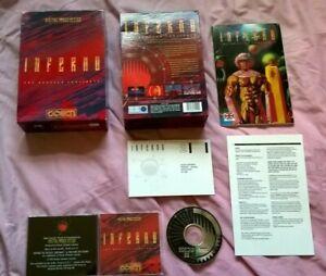 INFERNO : THE ODYSSEY CONTINUES - 1994 PC GAME - ORIGINAL RARE BIG BOX EDITION