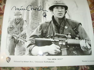 FULL METAL JACKET HAND SIGNED BY MATTHEW MODINE