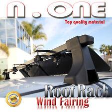 "43"" Roof Top Cross Bar Air Deflector Aerodynamic Wind Fairing Set For Ford"