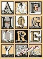 Amphigorey: Fifteen Books by Edward Gorey (English) Paperback Book Free Shipping