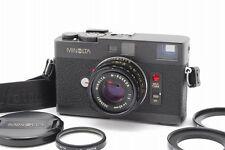 Minolta CLE 35mm Rangefinder Film Camera w/ M Rokkor 40mm F/2 Lens SET B244