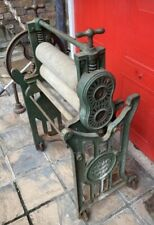 More details for the acme  antique cast iron mangle vintage  industrial table very heavy