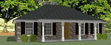 Affordable House  Home Blueprints Plans 3 bedroom 1404 sf PDF
