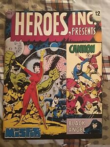 Heroes, Inc. Presents Cannon #2 Wally Wood Ditko John Byrne Mike Vosburg 1976