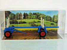 Busch 210007800 - Mehlhose 1:87 - Timber Trailer » Circus busch « - New Boxed