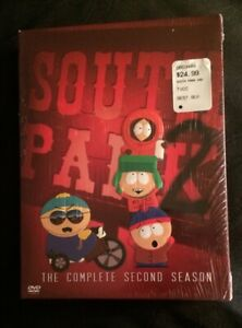 South Park Season 2 DVD ~ 3-Disc Collectors Edition ~ Brand New Sealed! NIB