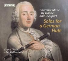 FTheunsMBaue SHenstra - Solos for a German Flute [CD]
