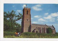 Ranworth Church Norfolk 1960s Postcard 606a
