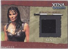 XENA COMMEMORATIVE R4 XENA VERY RARE FABRIC VARIANT COSTUME ONLY /175 PRODUCED