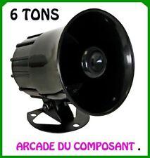 SIRENE KLAXON 6 TONS DIFFERENTS AUTOMATIQUE 115dB  (ref 71032-1) Poids 700g