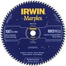 "NEW IRWIN 1807384 MARPLES 12"" X 80 TPI CROSS CUT CARBIDE CIRCULAR SAW BLADE SALE"