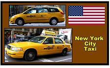 ciudad de Nueva York taxi - RECUERDO Imán de nevera NUEVO