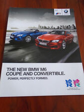 BMW M6 Coupe & Convertible brochure 2012 ed 1