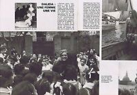 COUPURE DE PRESSE CLIPPING 1977 DALIDA (2 pages)
