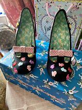 Irregular Choice OZ I'm Bossy Bunny Hop Size 40 Rare Brand New In Box 🐰💖