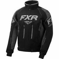 FXR Mens Black/Charcoal/Grey Adrenaline Jacket Snowmobile 2020