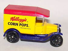 Matchbox Die Cast Ford 1921 Model T Delivery truck marked Kellogg's Corn Pops