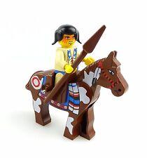 #e6274 Lego Minifigur Western Indianer mit Pferd 6748 * 6718 * 6766 * 6763